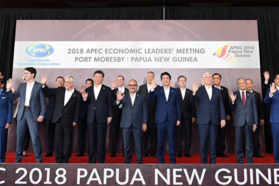 針對剛剛過去的APEC峰會,中共週一(11月19日)指責美國是導致APEC領袖宣言難產的原因。一位白宮官員反擊中共言論,稱其為「完全的杜撰和政治宣傳」。(SAEED KHAN/AFP/Getty Images)