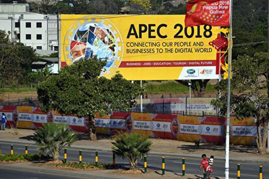亞太經合組織(APEC)峰會剛結束,由於中共的阻撓,峰會在二十多年歷史上首次沒有聯合宣言。(SAEED KHAN/AFP/Getty Images)