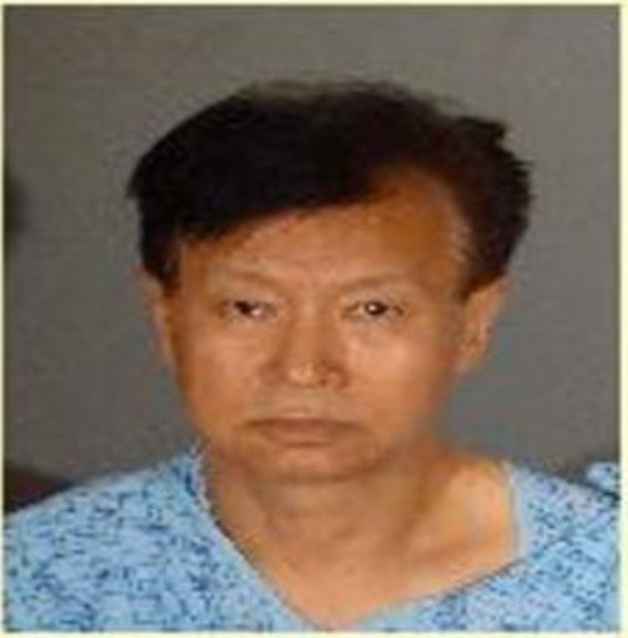 11月16日洛杉磯僑報槍擊案疑犯陳忠啟19日已交保出獄。(阿罕布拉警局提供)