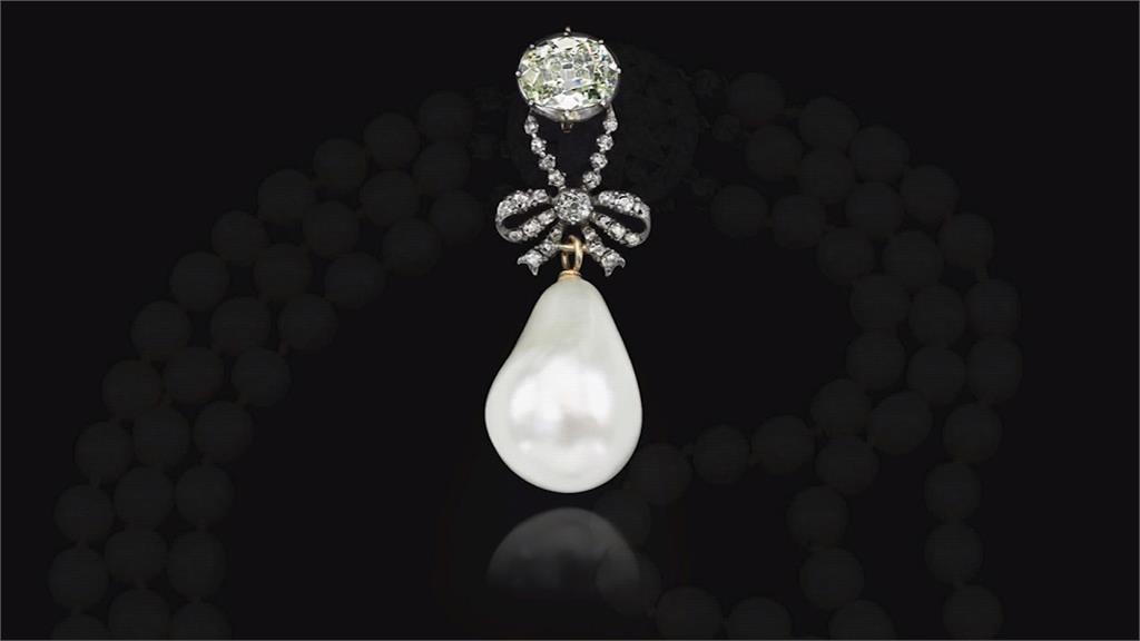 瑪麗皇后珍珠頸鍊  破天荒拍賣二億港元