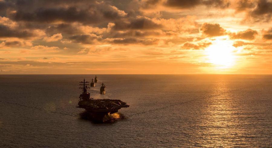 列根號航母獲准訪港 北京貿戰壓力下讓步?