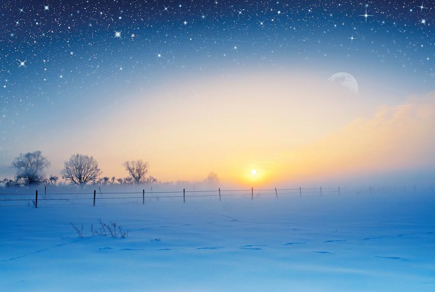冬天到了 古人怎知道?
