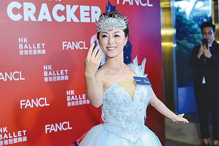 劉心悠表示,為了演出《胡桃夾子》,每天苦練芭蕾舞八個小時。(宋碧龍/大紀元)