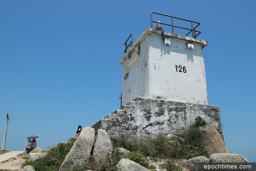 蒲台島126燈塔。(陳仲明/大紀元)