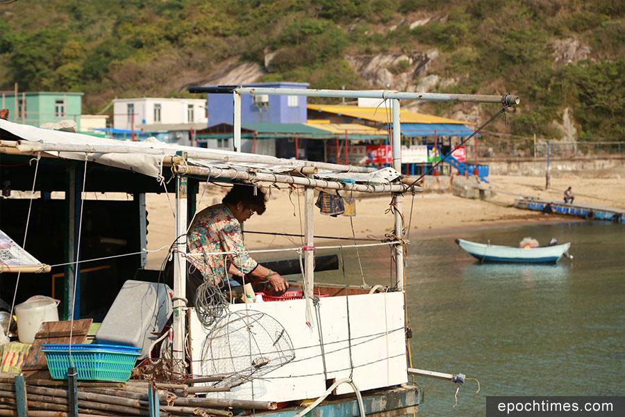 蒲台島鄉民過著簡樸的生活。(陳仲明/大紀元)