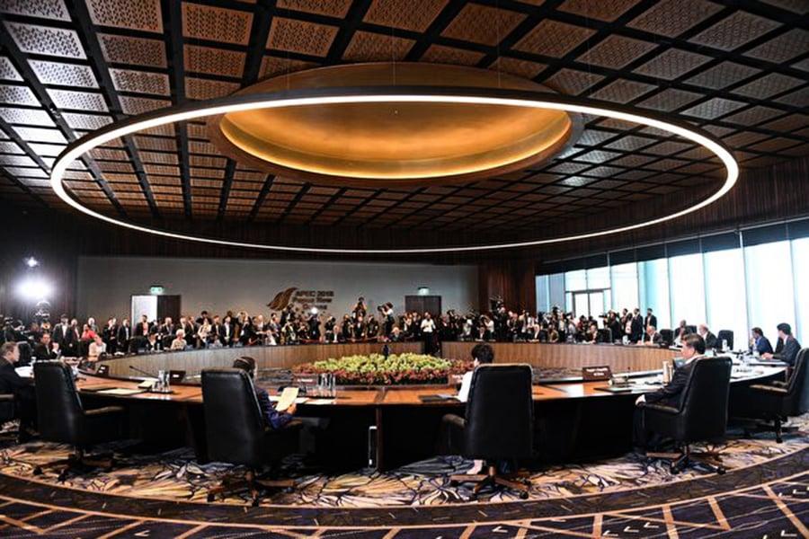 在APEC峰會上 中共至少三次受挫