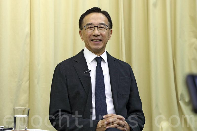 田北俊在網台節目解釋,他理解鍾國斌撤回23條議案,是因為建制派不支持討論議案。(蔡雯文/大紀元)