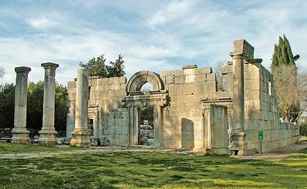 古猶太村莊卡法巴然,7到13世紀。(MASQUERAID/Wikimedia Commons)