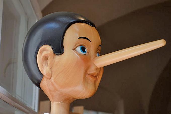 西班牙的一項研究發現,人們在說謊時鼻子不會變長,反倒是會縮小一點。(Schwerhoefer/Pixabay)