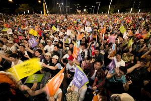大陸人跨海追台灣選舉 哪裏場子熱跑哪裏