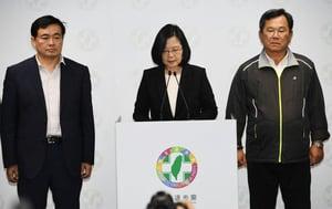 台九合一選舉挫敗辭黨魁 蔡英文:民主給我們上了一課