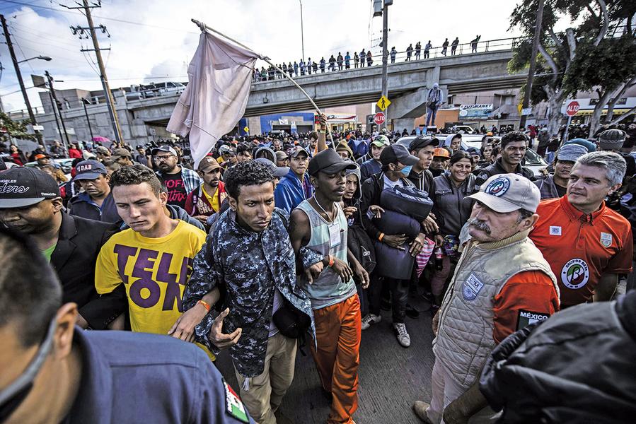 針對非法移民議題 傳美墨達協議 庇護申請者須留在墨國等結果