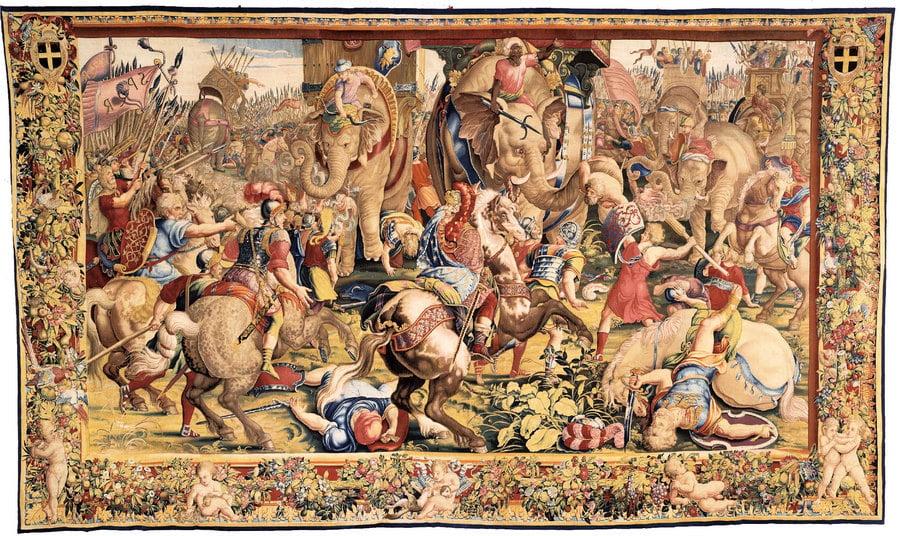 緙織壁毯 黃金時代的黃金藝術