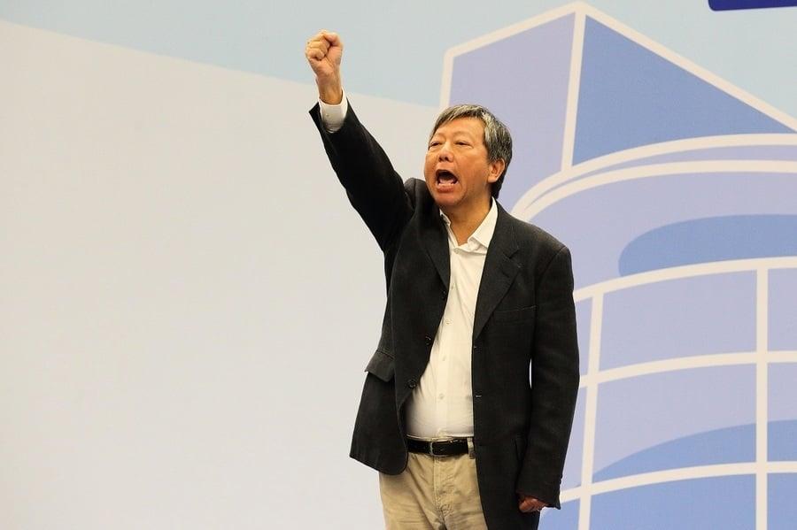 李卓人落選感言 不放棄 香港會贏