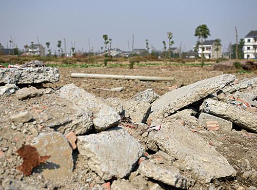 北京等熱點城市11月份以後有大量土地拍賣出讓。(AFP)