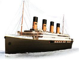 《鐵達尼號》最悲情的橋段原型 世界第二巨富與妻子相擁而逝