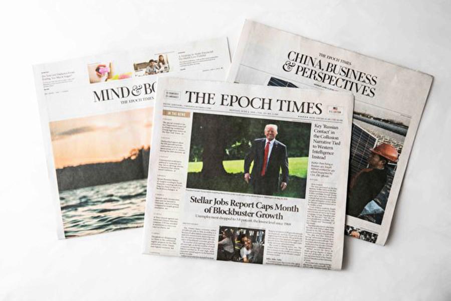 「特朗普和納瓦羅常看」 大紀元獲精英讚賞