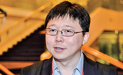 發明基因編輯技術CRISPR的麻省理工學院華裔教授張鋒。(宋碧龍/大紀元)