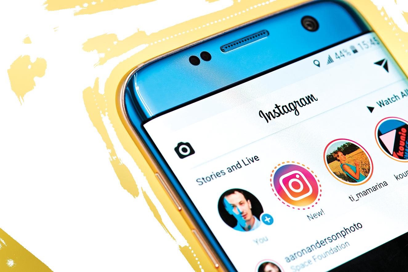 社交平台Instagram使用AI功能發現並移除假賬號。(shutterstock)