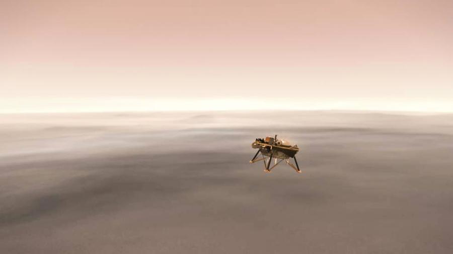 闖過恐怖7分鐘 NASA洞察號成功登陸火星