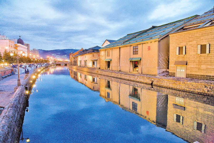 北方華爾街─小樽運河