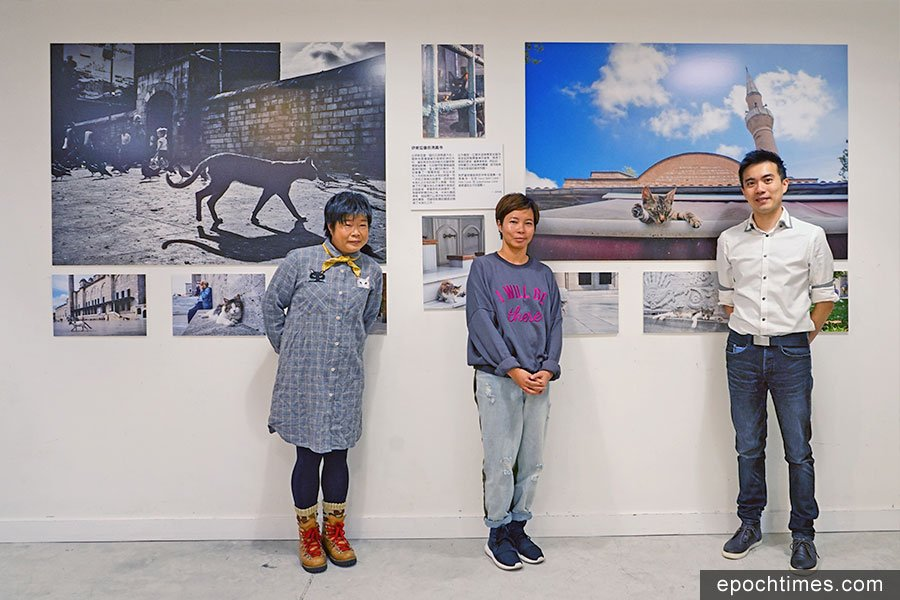從左至右分別為Jossie Ng、German Cheung及Jonas Chan。(曾蓮/大紀元)