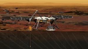 NASA無人探測器登陸成功 傳回首張火星照片