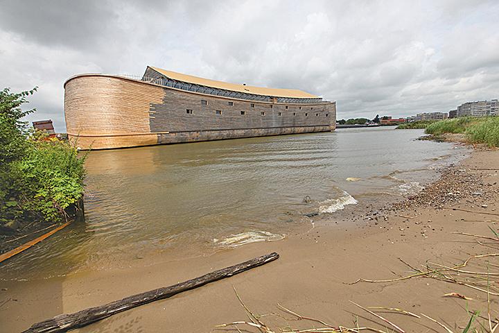 荷蘭商人複製諾亞方舟 擬駛向以色列