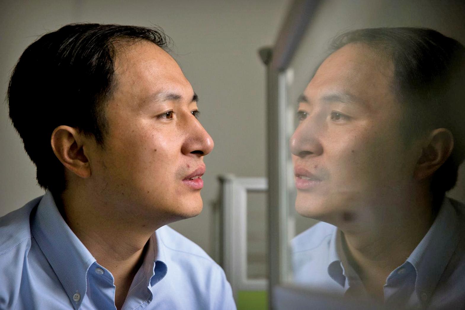 深圳南方科技大學副教授賀建奎宣佈,一對基因編輯雙胞胎女嬰於11月在大陸誕生,為全球首例。由於基因編輯存在巨大技術風險和倫理問題,遭到國內外學術界一致批評。(Mark Schiefelbein/Associated Press)