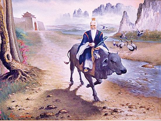 老子騎青牛過函谷關(圖片:wikimedia commons/widodo)