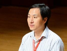 賀建奎拒回應道德問題 承認基因編輯資金來自南科大