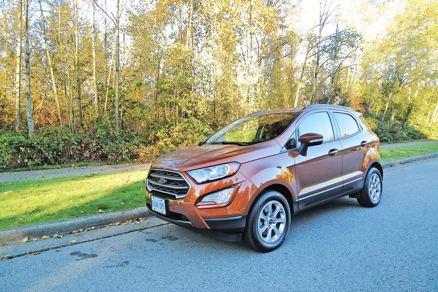 一升SUV 2018 Ford EcoSport SE