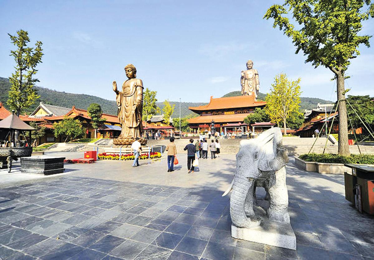 江蘇無錫「祥符禪寺」。(王波波 /維基百科)
