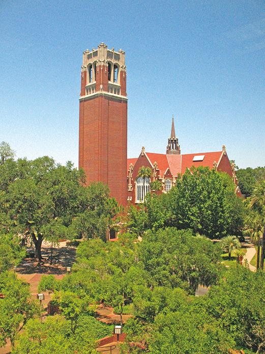 佛羅里達大學。(Own work/WikiMedia Commons)