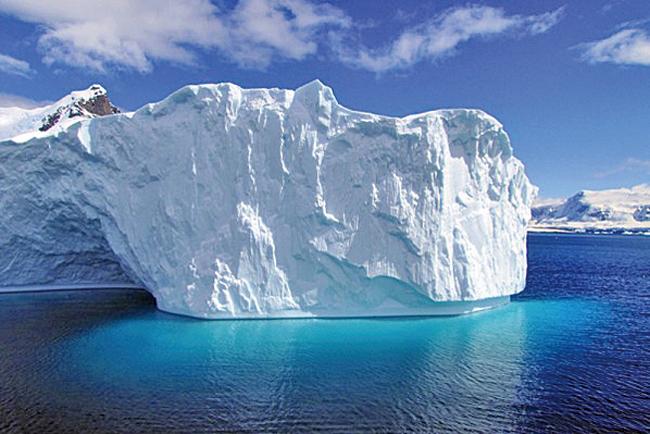 英國一項新的研究發現,在過去近40年間,南極海岸冰川已有1千平方公里融化,面積相當於德國柏林市。(AFP/ SARAH DAWALIBI)