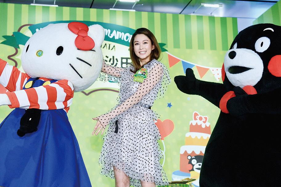 岑麗香(香香)表示有份角逐無綫台慶最佳女主角,能入圍已很開心。(宋碧龍/大紀元)