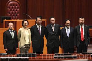 基本法委員會主任沈春耀訪立會 無回應朱凱廸被DQ