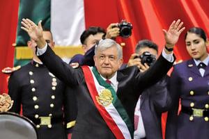 墨西哥新總統上任 簽四國協議阻非法移民