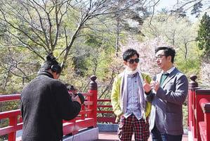 項明生夥陶傑遊日本    拍旅遊片似做《光明頂》