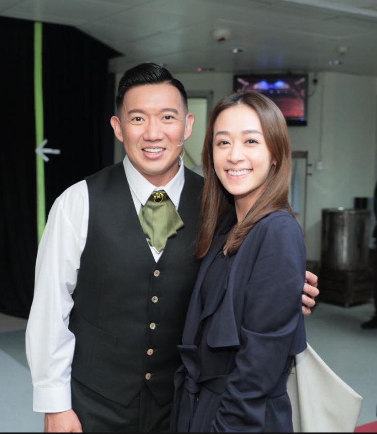 杜汶澤(左)熱心相助黃心美找到失散二十年的表哥。(黃心美FB)