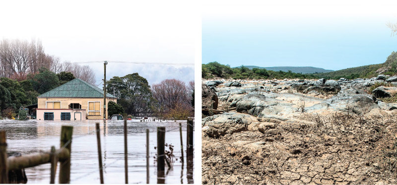 全球極端氣候越來越頻繁。(Getty Images)