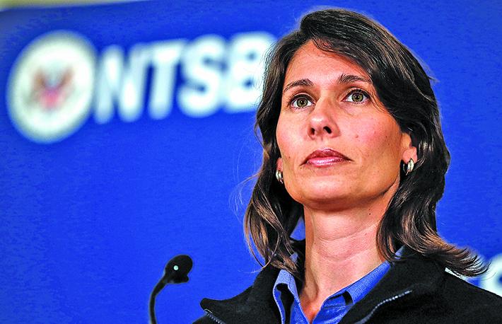 NTSB前主席黛博拉‧赫斯曼將於明年1月份成為Waymo的首席安全官。(Justin Sullivan/Getty Images)