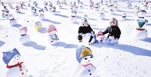 白雪創造的夢幻世界 南韓冬季文化慶典