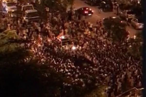 粵村官醉駕撞死人欲逃 惹上千民眾與警激戰