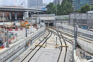 沙中綫紅磡站將鑿驗80處石屎