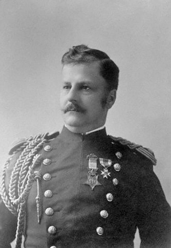 麥克阿瑟將軍的父親阿瑟.麥克阿瑟(Arthur MacArthur)將軍。(公有領域)