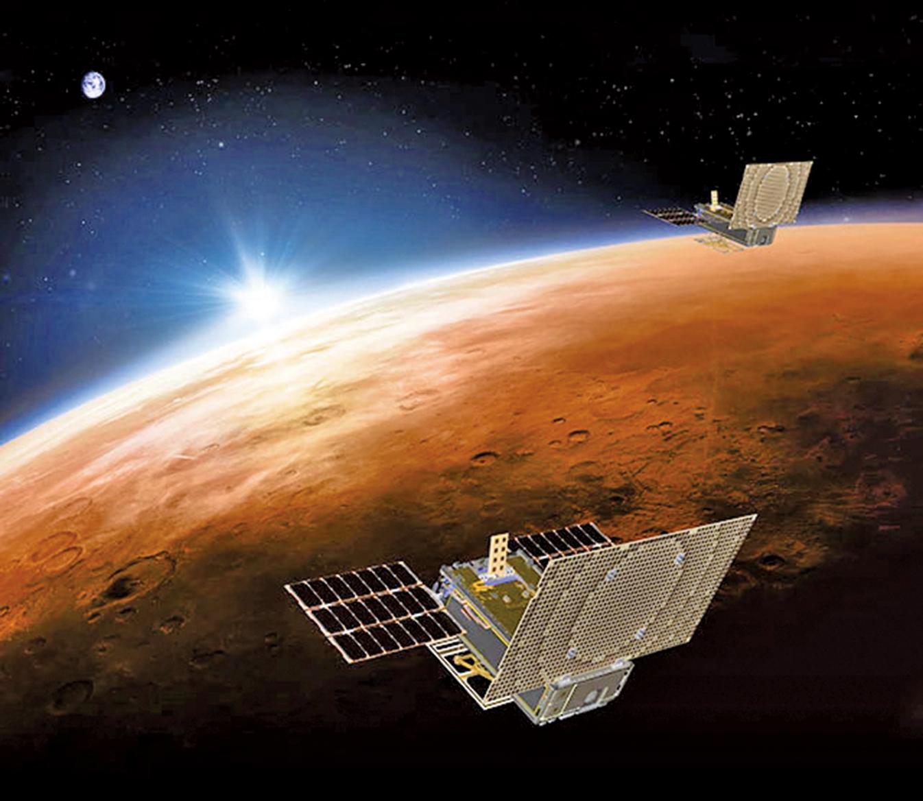 美國的一系列法律實際上禁止對中共出口衛星技術,同時中國製造的衛星遠不如美國產衛星。圖為衛星示意圖。(AFP)