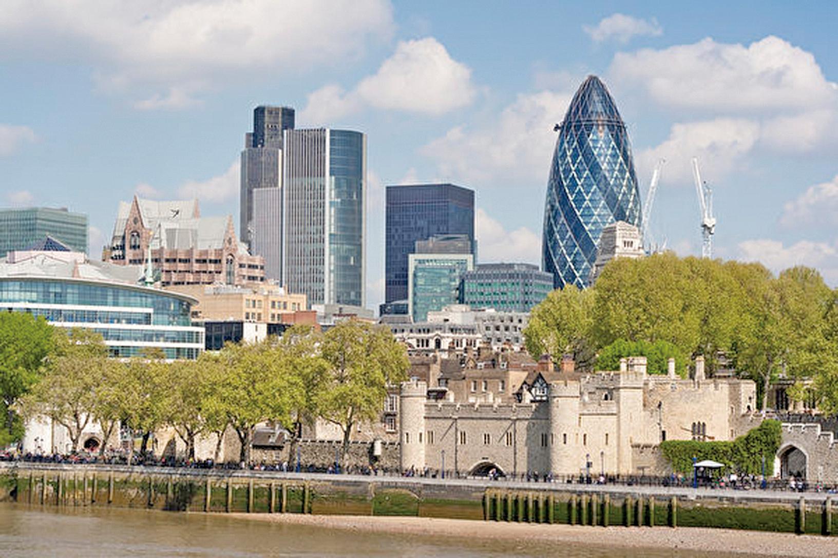 英國樓價上漲速度放緩對倫敦的影響最大。(Depositphotos)