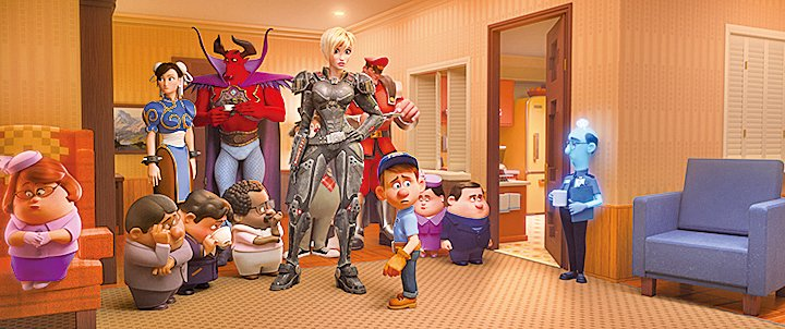 雲妮露所闖入的迪士尼網絡世界,迪士尼電影眾多知名角色不時現身客串。