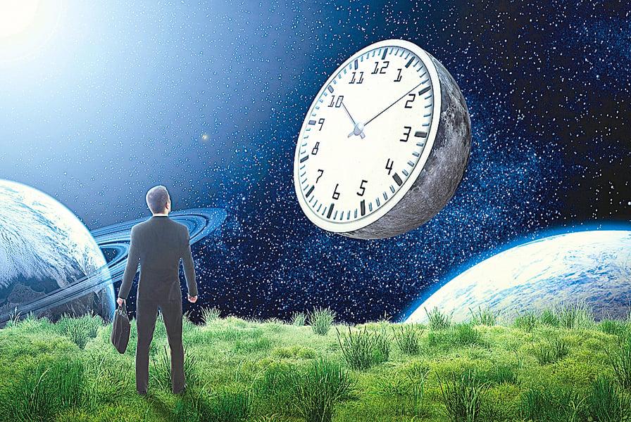 客機消失十分鐘——「超時空旅行」
